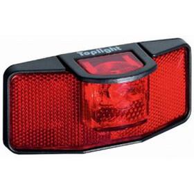 Busch + Müller Toplight Dynamo Rear Light black/red